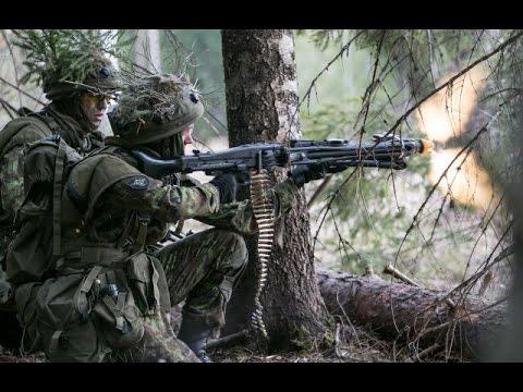 US Army vs Estonian Army - Winter Warfare Training