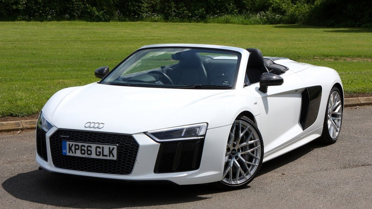 audi r8 spyder 2019 car review
