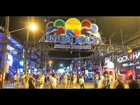 PHUKET THAILAND, PATONG BEACH-BANGLA ROAD, DAY & NIGHT ! Vlog 162