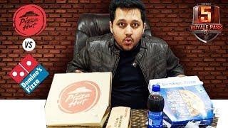DOMINOS VS PIZZAHUT | Best pizza | ELITE PASS GIVEAWAY | 4K