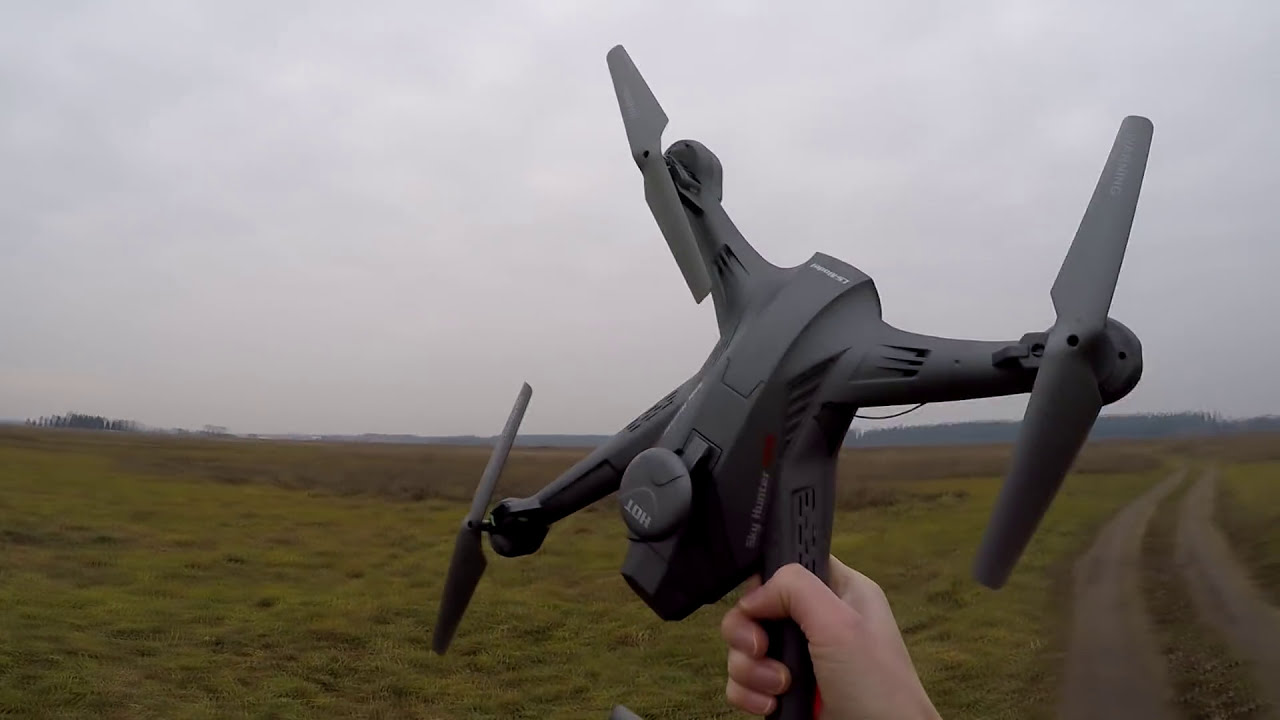 Бюджетный FPV квадрокоптер Sky Hunter Lian Sheng LS с наклоном камеры с пульта фотки