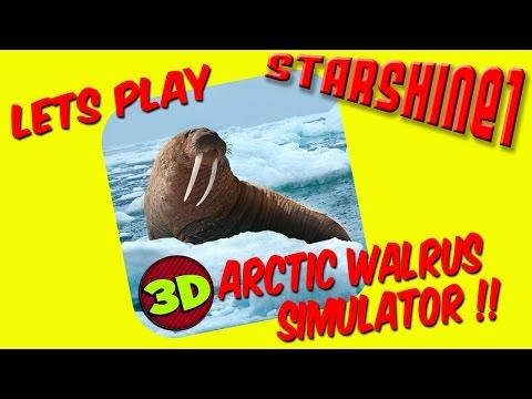 Let's Play: 3D Arctic Walrus Simulator !