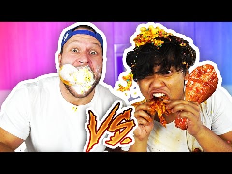 Thumbnail: ULTIMATE EAT IT OR WEAR IT CHALLENGE! (ft. FuriousPete)
