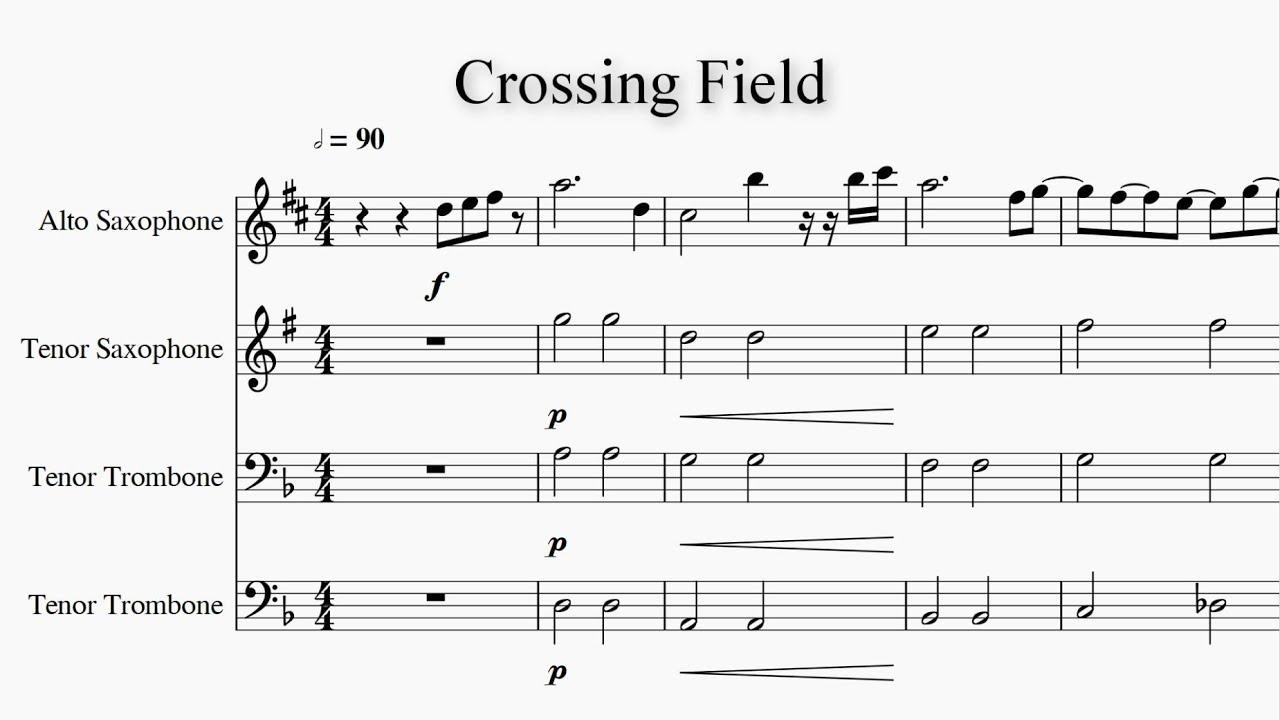 Crossing Field - Sword Art Online OP 1 (Band Quartet ver ...