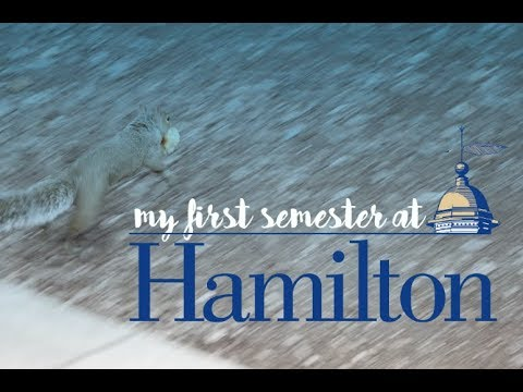 My First Semester at Hamilton College || #getscrolled