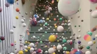 Dropping 5,000 Bouncy Balls All At Once