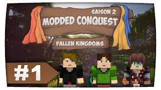 Minecraft ► Modded Conquest 2 • Ep 1 FK AVEC DES MODS thumbnail
