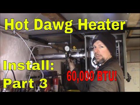 propane heater hook up kit