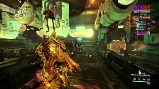 Warframe- Mobile Defense gameplay (Tower 3 Sabotage key alert)