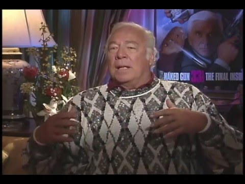 Hollywood Great George Kennedy talks with Jimmy Carter -Naked Gun 33 1/3