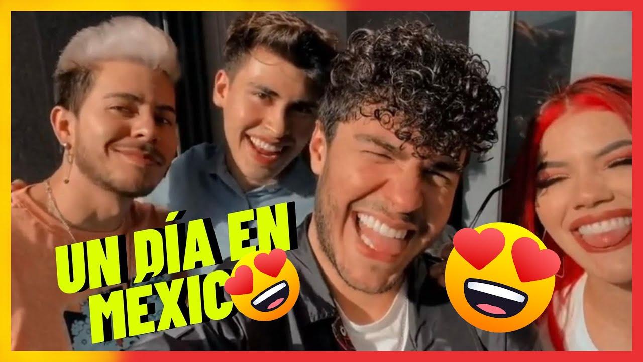 Un día en México con Mariana, La Divaza y Konrad 😍