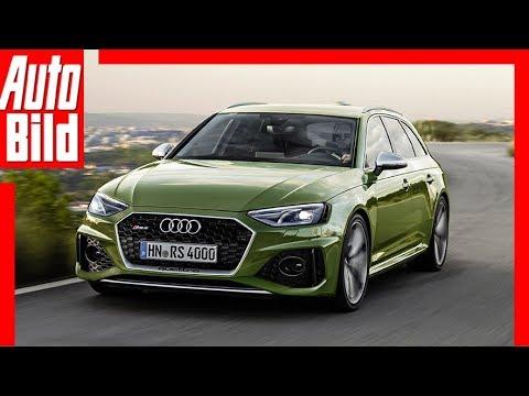 Zukunftsaussicht Audi Rs 4 Avant 2020 Infos Motor Kombi