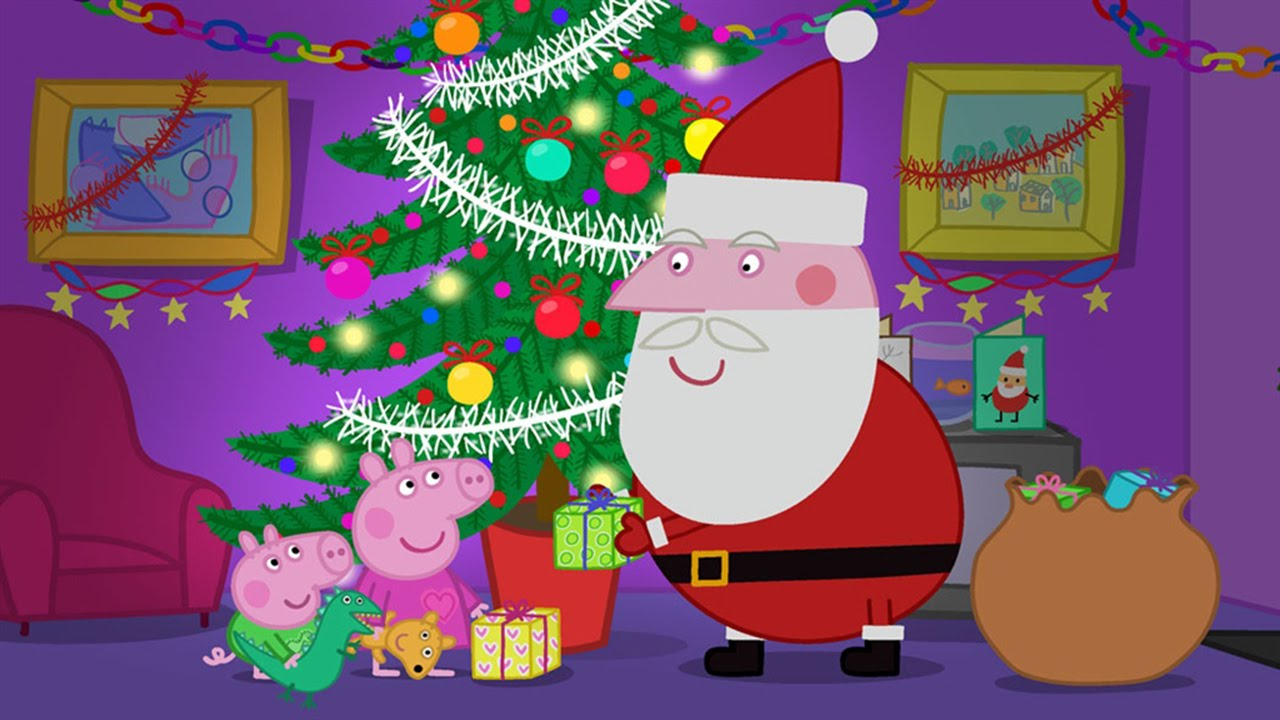 Peppa Pig For Christmas Youtube