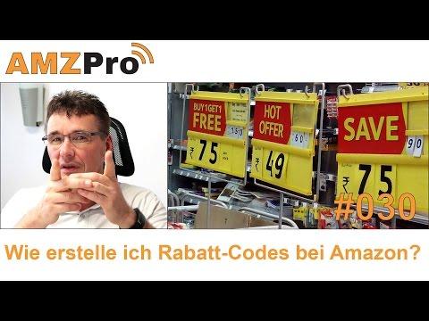 Rabatt-Codes auf Amazon erstellen - Werbeaktionen & Preisnachlass  #030  - AMZPro