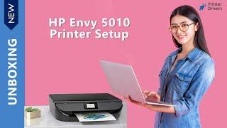 HP Envy 5010 Printer Setup   H…