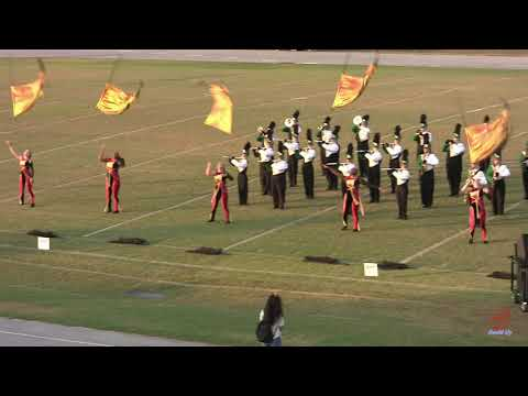 Central Cabarrus High School Marching Vikings at Hickory Ridge 9/28/2019