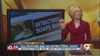 FDA may ban antibacterial soaps