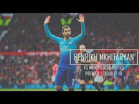 Henrikh Mkhitaryan Vs Manchester United (Away) HD 720p - Manchester United Vs Arsenal 2-1