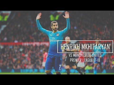 Henrikh Mkhitaryan Vs Manchester United (Away) HD 720p - Manchester United Vs Arsenal 2-1