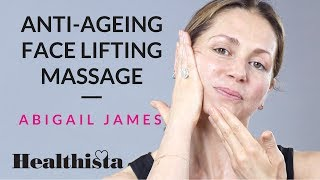 How to do an anti-ageing face massage in 4 minutes with top facialist Abigail James