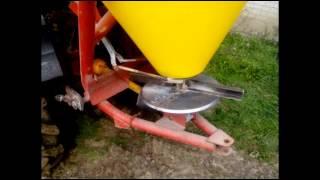 Uprawa pod kukurydze wladimirec t25 rozsiewacz+agregat polowy.