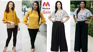Myntra Haul 2018  Top and Jumpsuit  Review   Look book   Sapnacreations