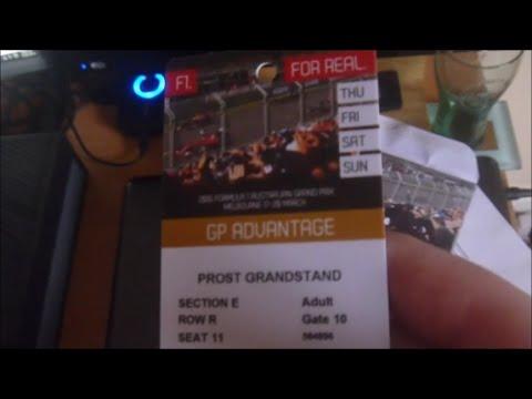 Australian Grand Prix Tickets 2019