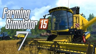 Let's Play Farming Simulator 15 - Part 7 - One Big Field