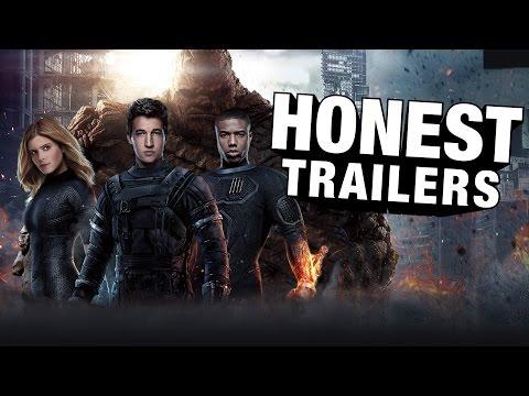 Honest Trailers - Fantastic Four (2015)