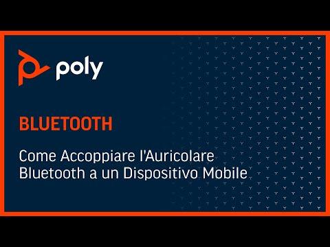 Come Accoppiare l'Auricolare Bluetooth a un Dispositivo Mobile