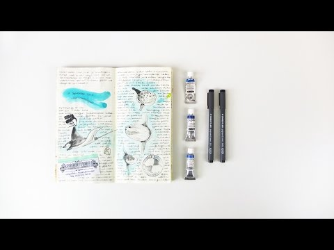 Illustrated Travel Journal - Indonesia