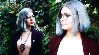 видео Серая краска для волос