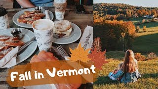 COZY FALL WEEKEND IN VERMONT I Julia Hunt I VLOG