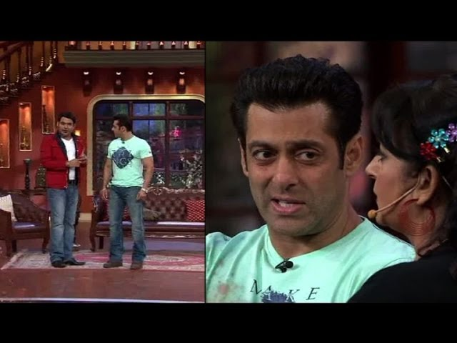 Watch Salman Khan on Comedy nights with Kapil Travel Video