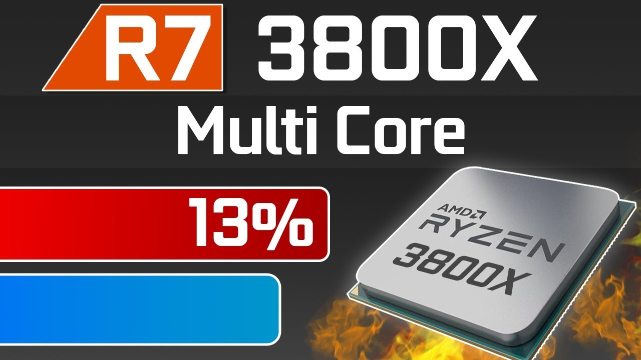 Ryzen 3800X 13% Faster Than 9900K in Multi-Core!