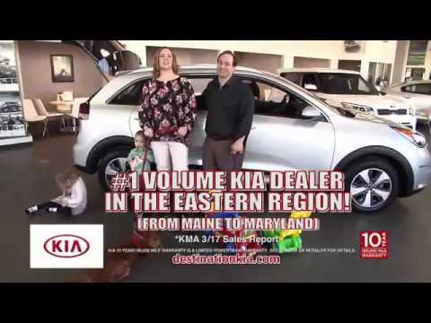 #1 Volume Kia Dealer | Over 500 New Kias In One Location | DESTINATION KIA  | 12206