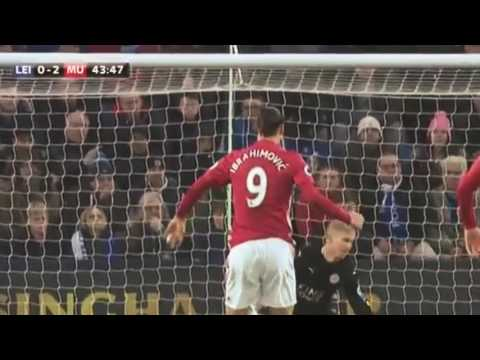 Leicester City 0-3 Manchester United - HD Extended Highlights - EPL 5 February 2017