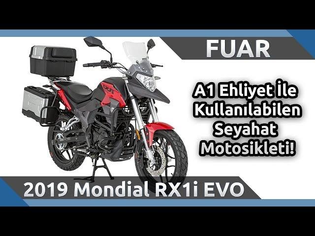 2019 Mondial RX1i EVO Ön İnceleme - 2019 Motobike İstanbul Fuarı