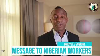 Download Video Omoyele Sowore's bondage freeing message of hope to the workers! #SoworeRufai2019 MP3 3GP MP4