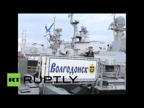 Russia: Caspian Flotilla prepares for massive Centre-2015 military drills