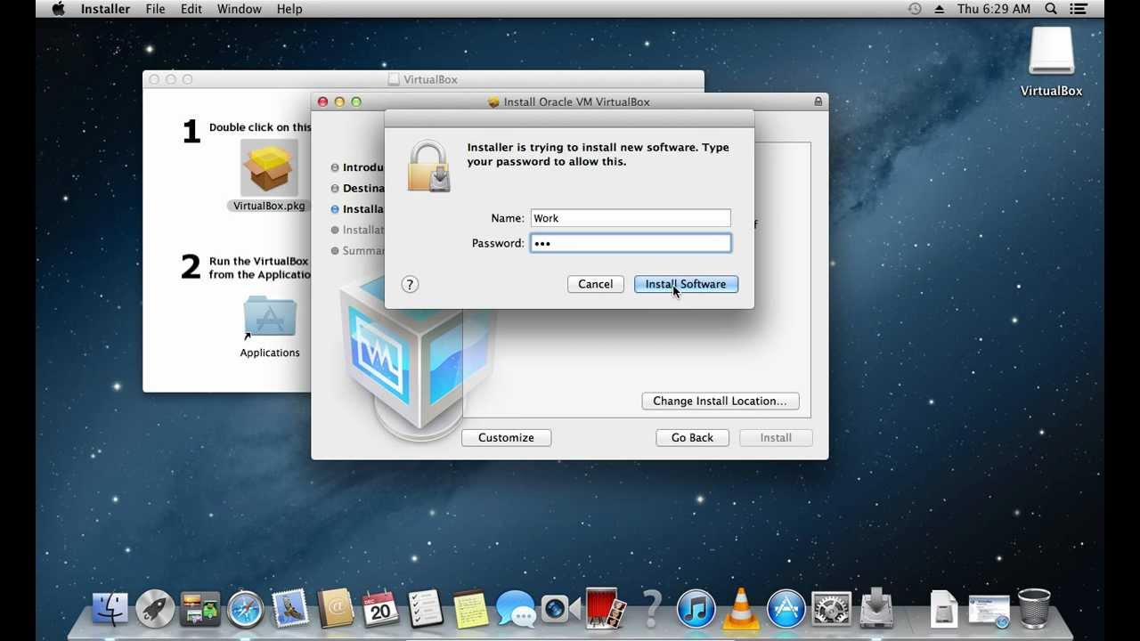 How to Install Virtual Machine on Mac - YouTube