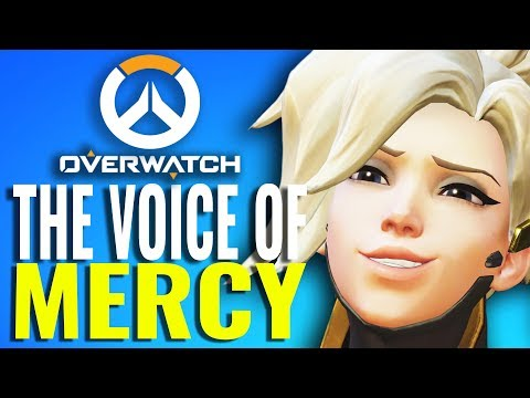 Why Mercy from Overwatch sounds so familiar