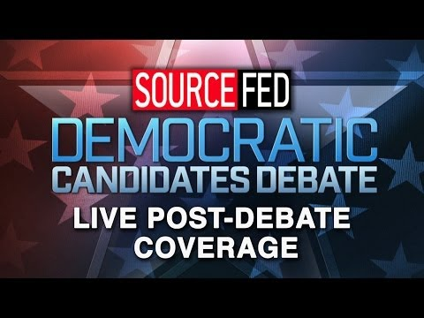 2016 Democratic Presidential Debate - LIVE Coverage