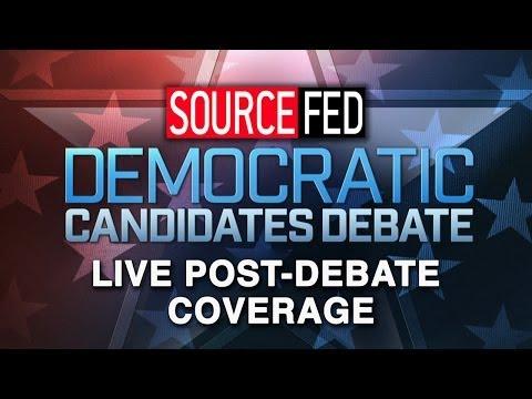 2016 Democratic Presidential Debate - LIVE Coverage