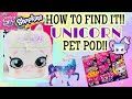 Shopkins Season 9 Wild Style FULL CASE - HOW TO FIND LIMITED EDITION UNICORN Pet Pods!! HACK WORKS!!