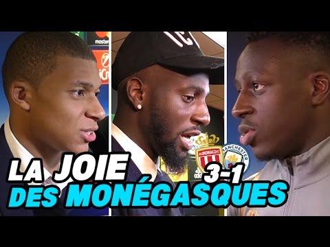 Mbappé, Bakayoko et Mendy racontent l'exploit de Monaco VS Manchester City : 3-1