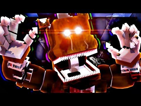Анимация Minecraft (Мультики) - 5 Ночей с Фредди Анимация (Мульт,Анимация)