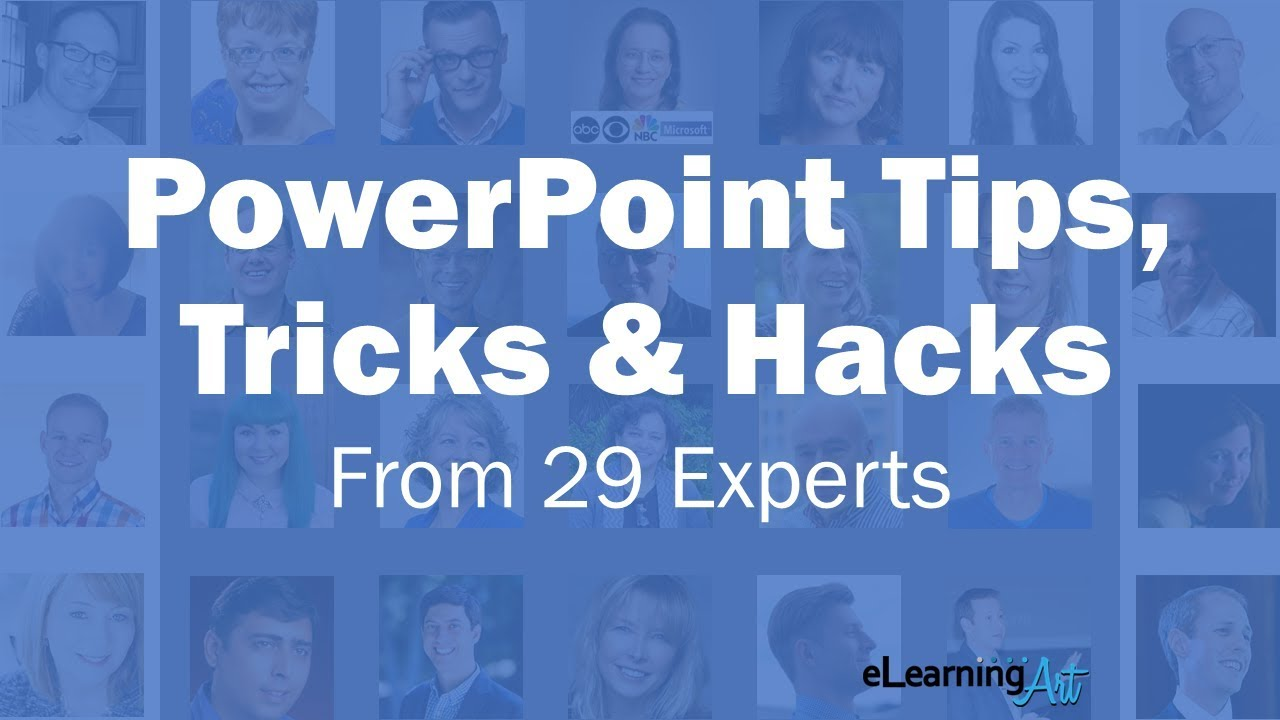 29 powerpoint tips, tricks & hacks in 90 seconds youtube.