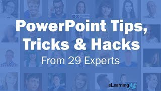 29 PowerPoint Tips, Tricks & Hacks in 90 seconds