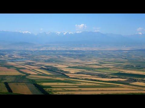 KIRGUISTÁN - Bishkek landing